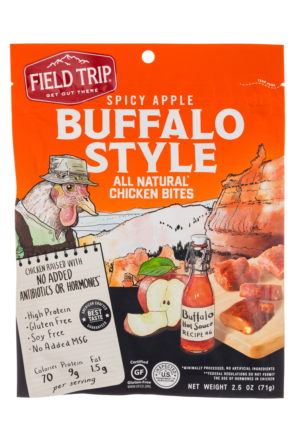 Spicy Apple Buffalo Style