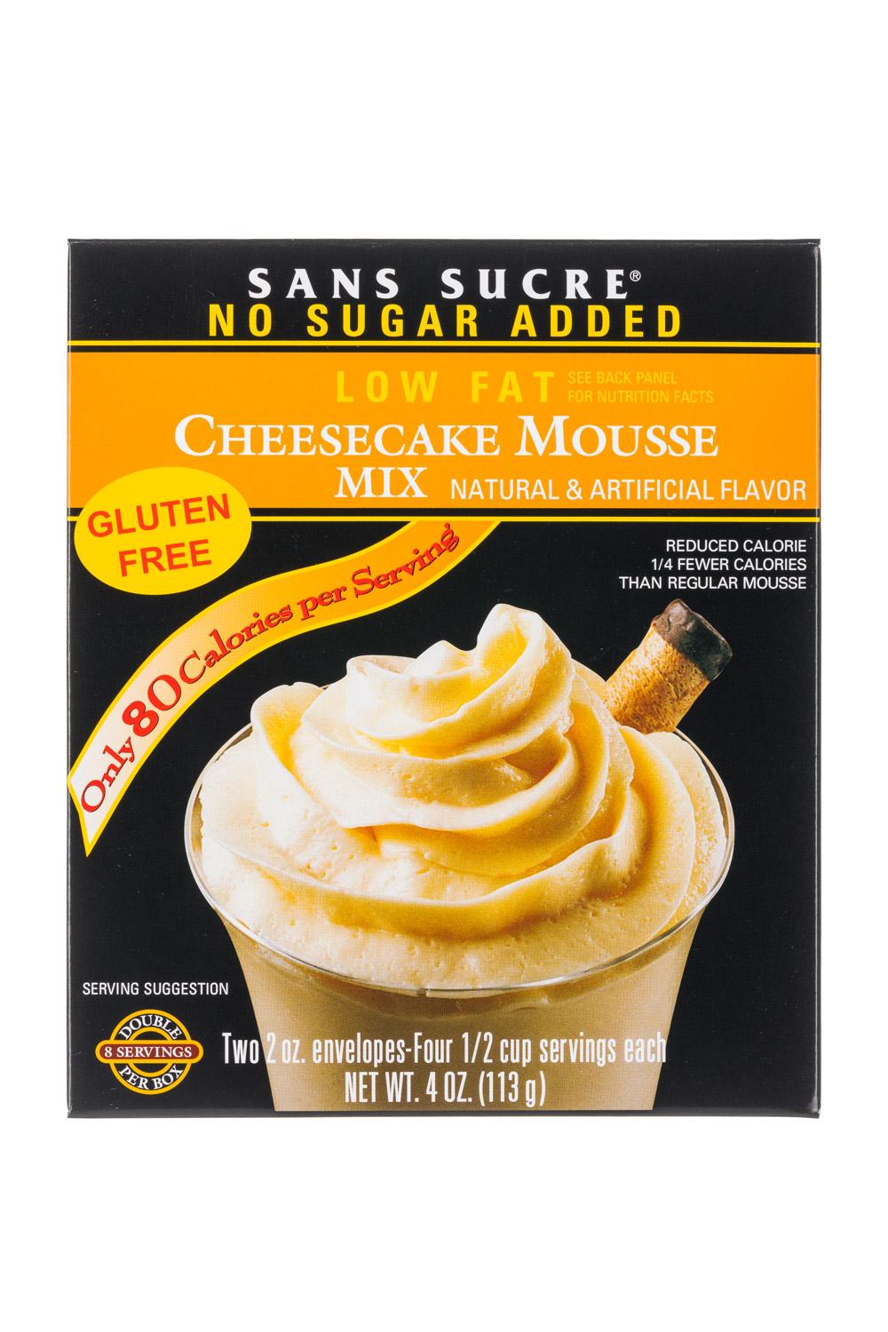 Low Fat: Cheesecake Mousse