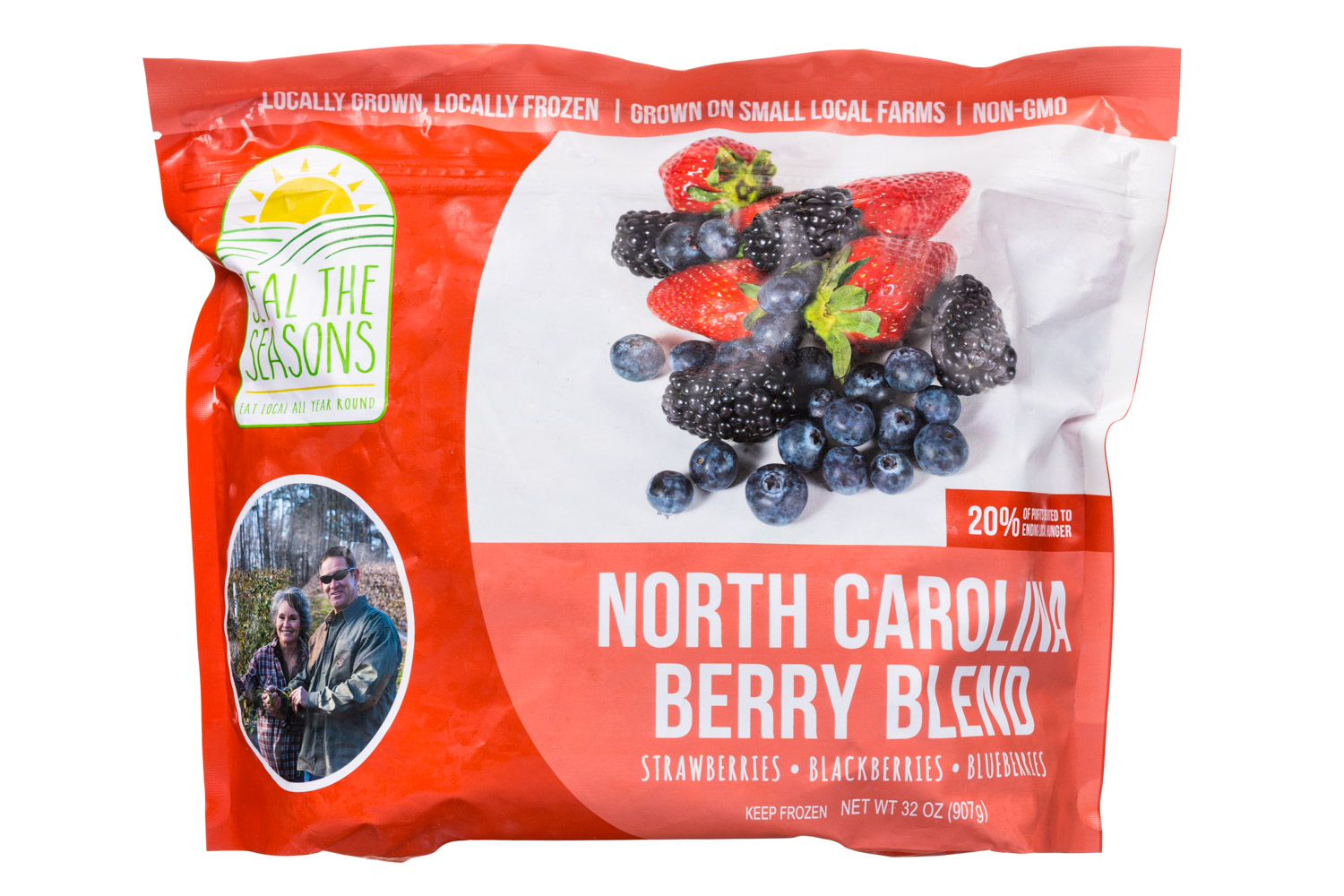 North Carolina Berry Blend
