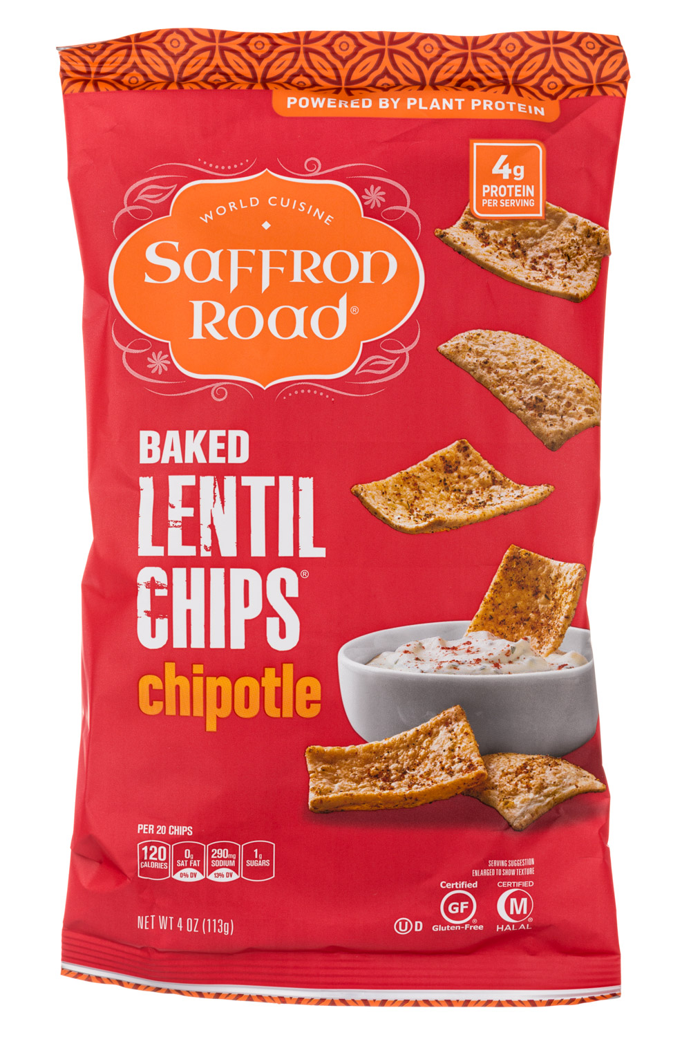 Chipotle Lentil Chips