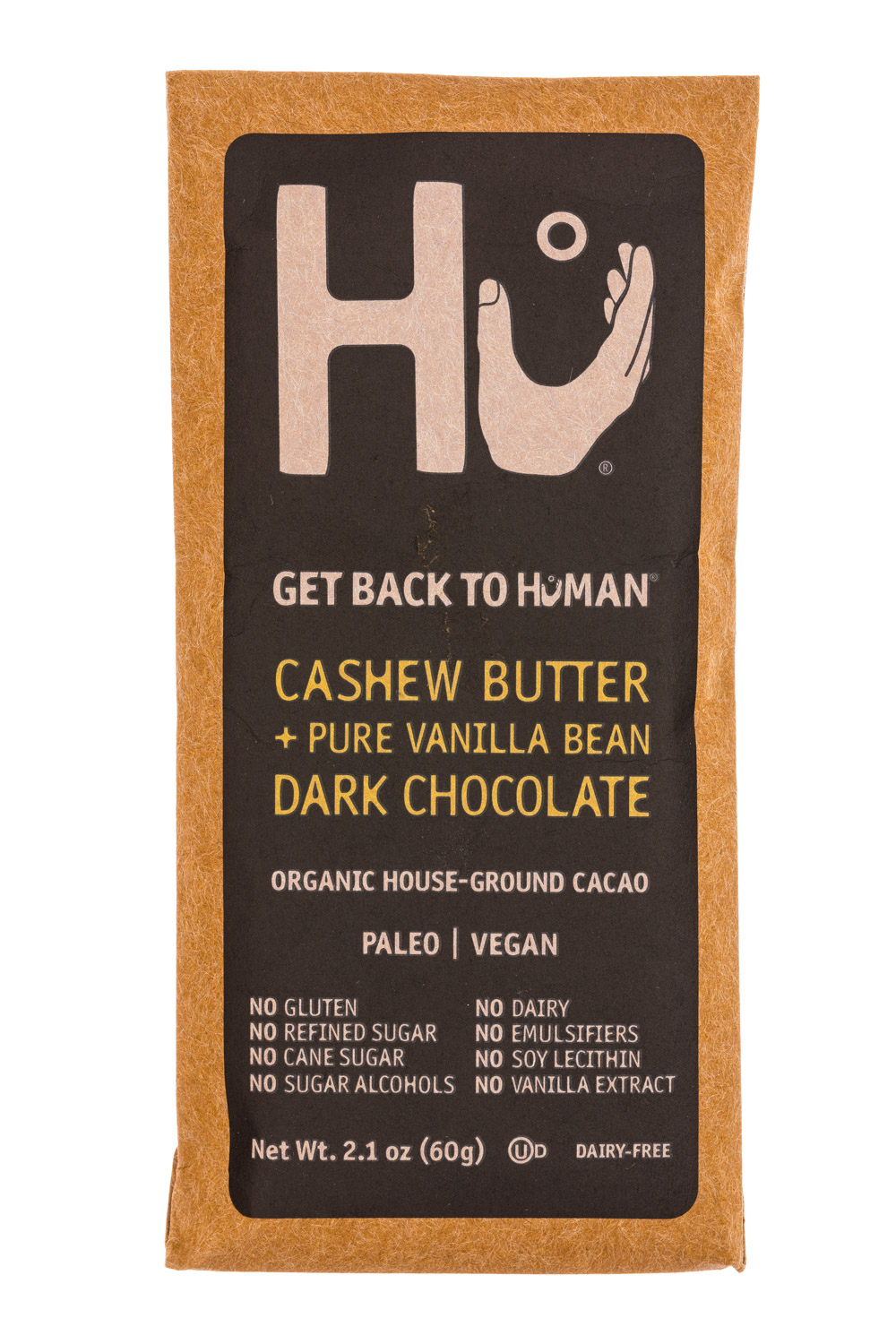 Cashew Butter + Pure Vanilla Bean Dark Chocolate