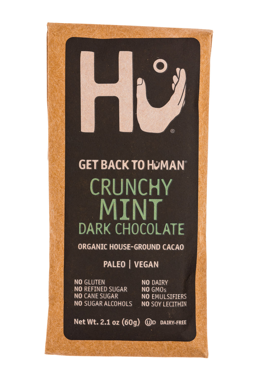 Crunchy Mint Dark Chocolate