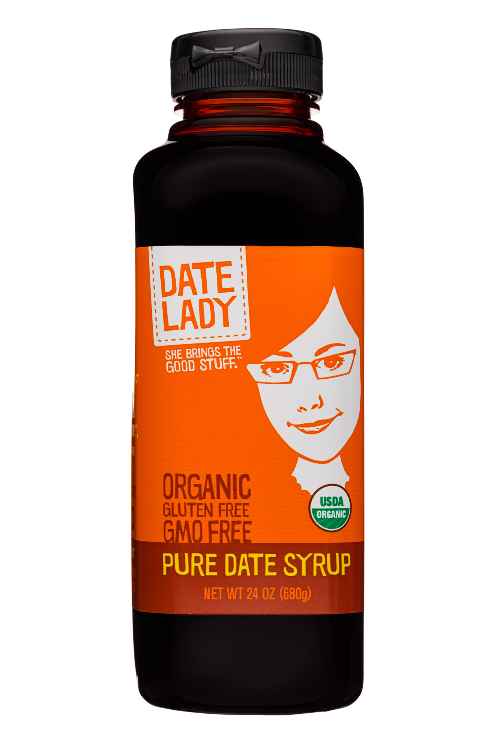 Pure Date Syrup 24oz