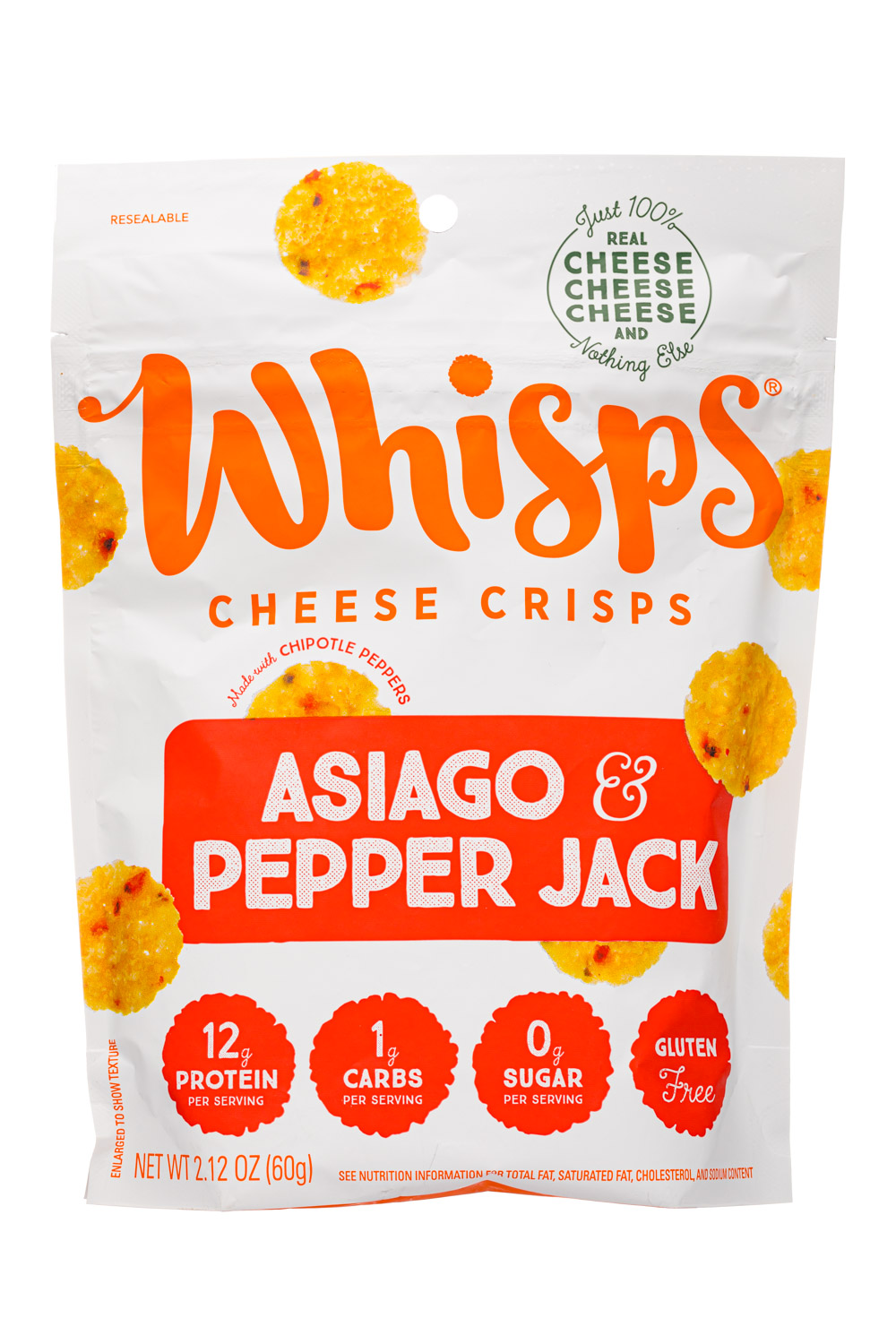Asiago & Pepper Jack 2.12oz