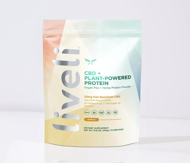 CBD + Plant-Powered Protein