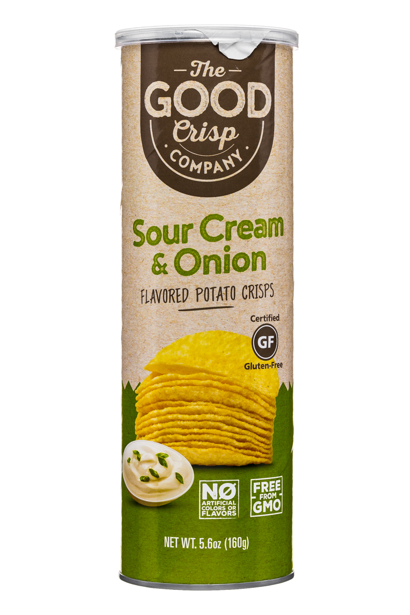 Sour Cream & Onion Potato Crisps (5.6 oz)