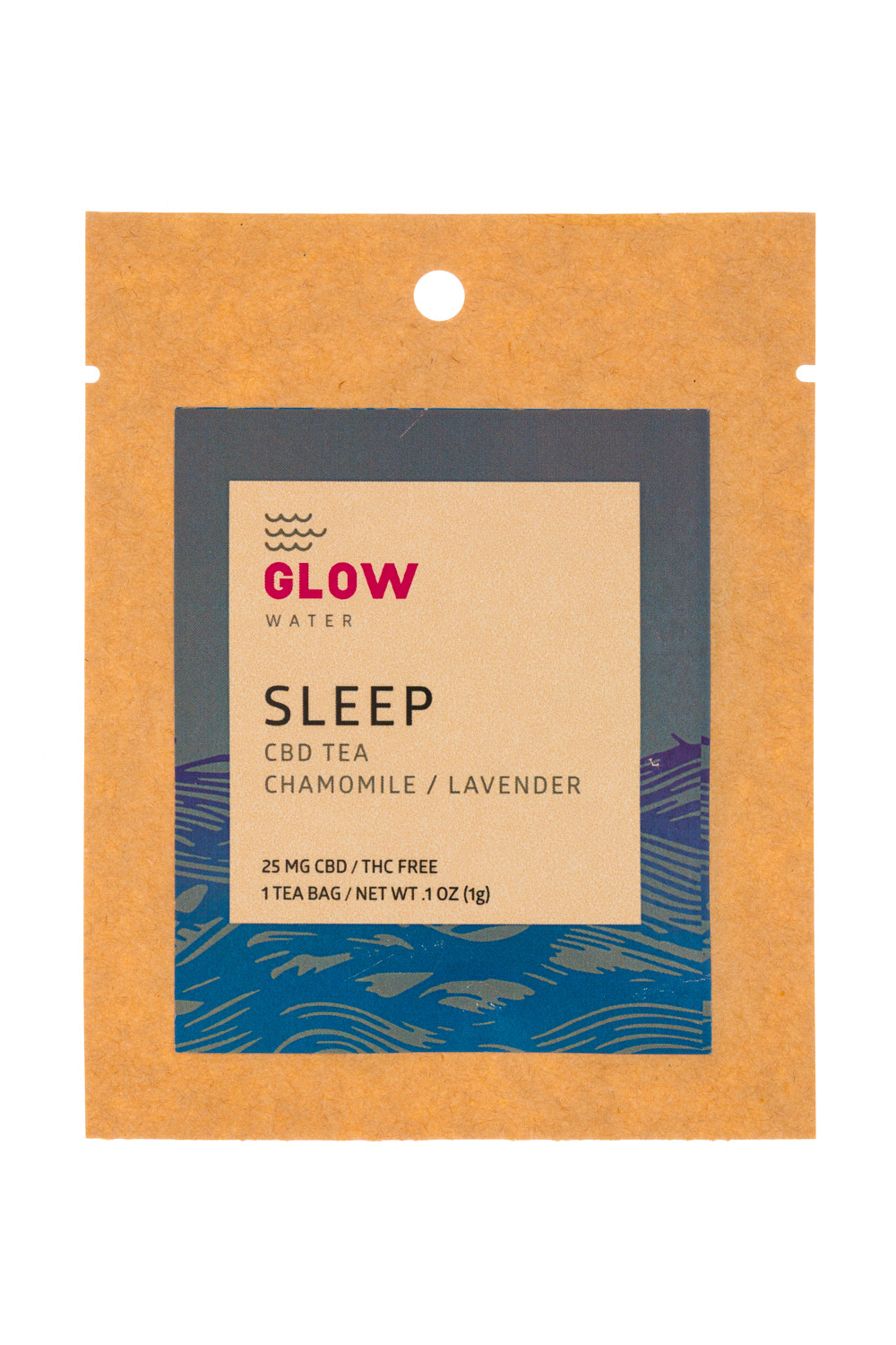 SLEEP Glow Water CBD Tea 1oz