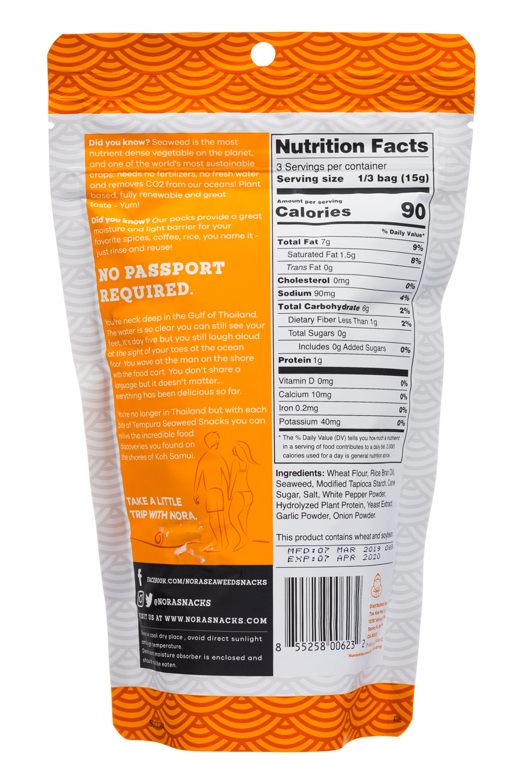 Nora Seaweed Snacks | NOSH.com