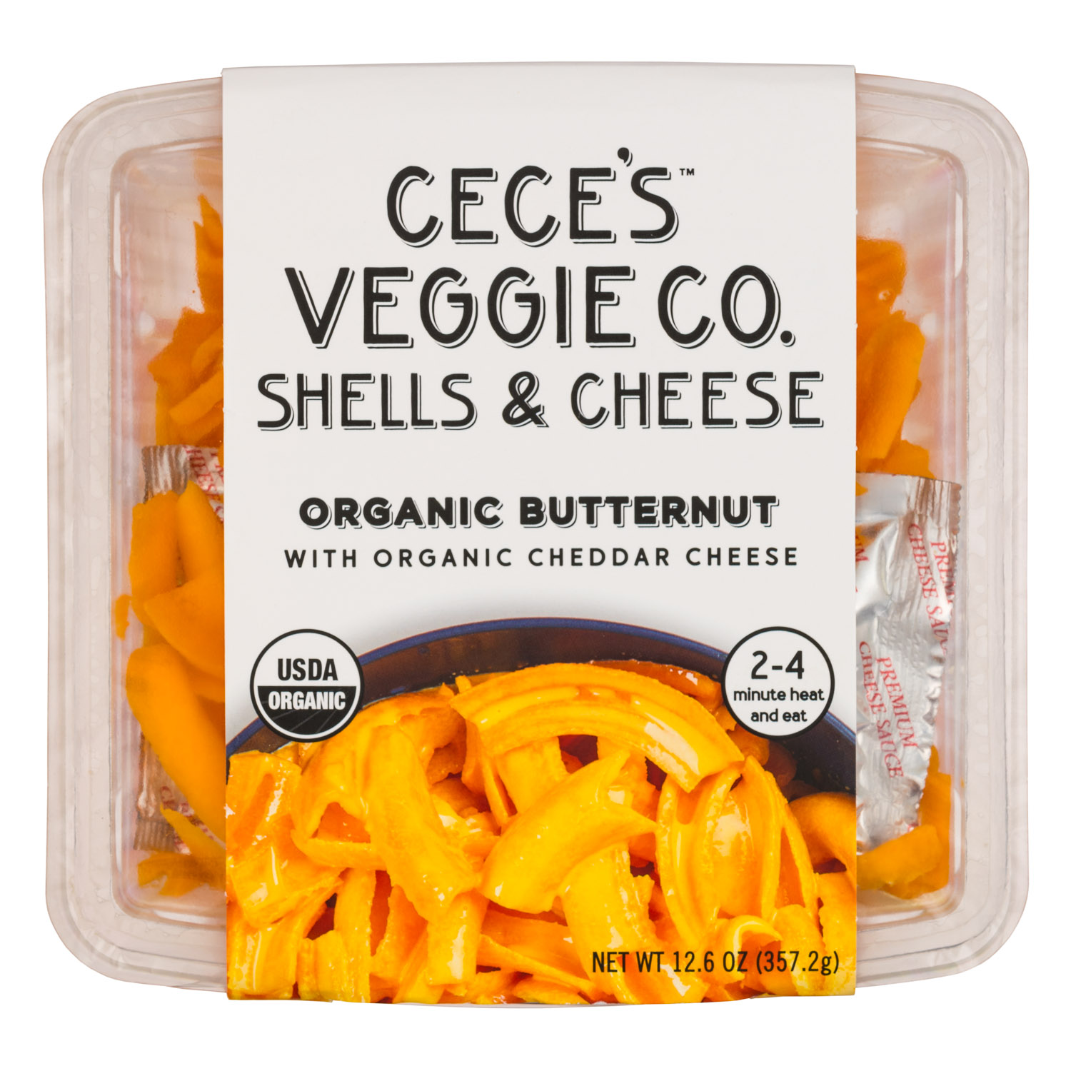 Organic Butternut with Organic Cheddar Cheese