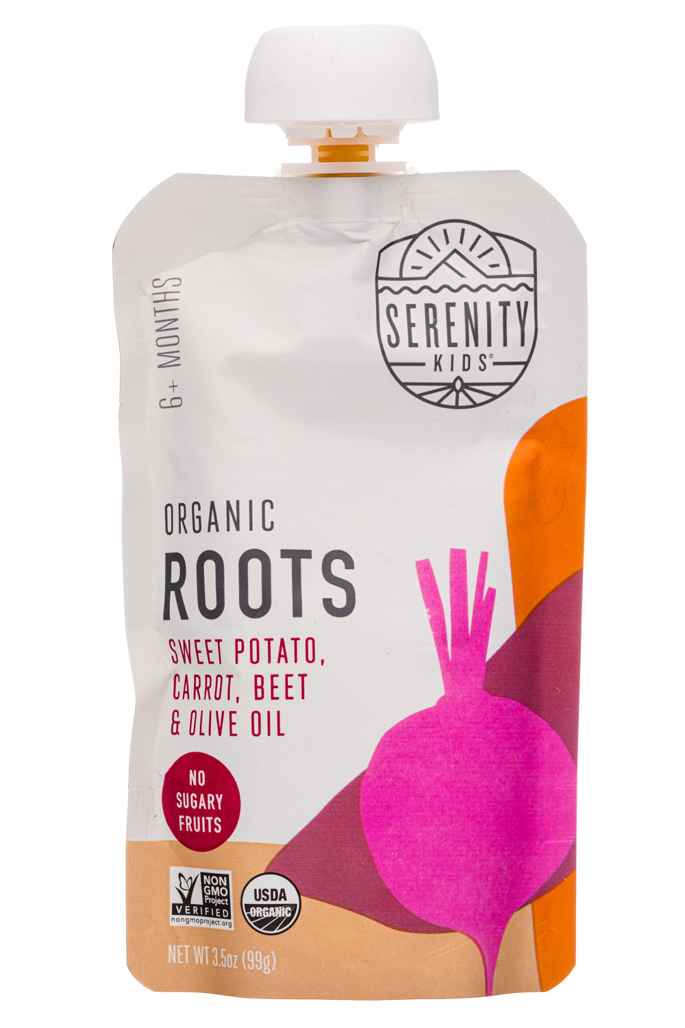Organic Roots: Sweet Potato, Carrot, Beet & Olive oil
