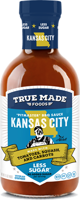 Pitmaster, KC Style Original BBQ Sauce, Low Sugar
