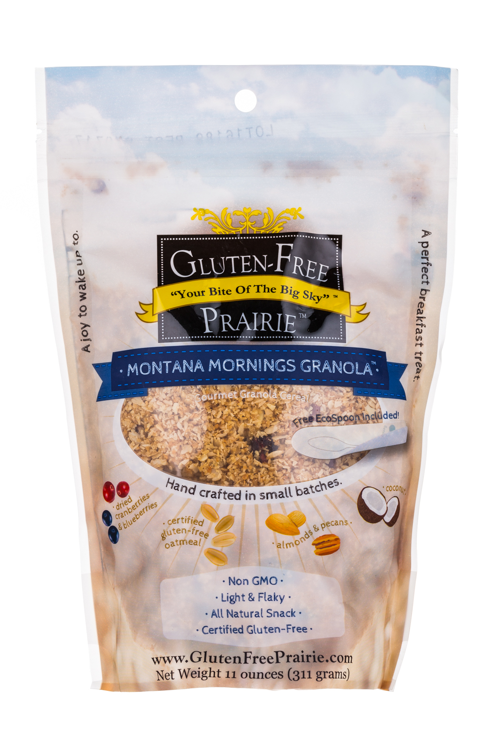 Montana mornings Granola